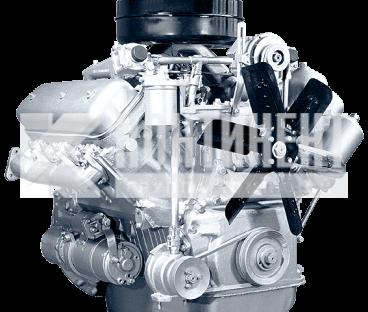 Фото: Двигатель  236М2 с коробкой передач и сцеплением 52 комплектации