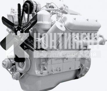 Фото: Двигатель 236НЕ без коробки передач и сцепления основной комплектации