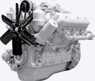 Фото: Двигатель 236БЕ2 без коробки передач и сцепления 1 комплектации