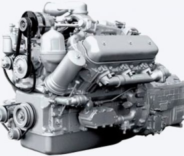 Фото: Двигатель 236НЕ с коробкой передач и сцеплением 26 комплектации