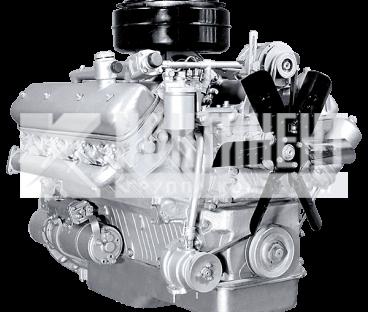 Фото: Двигатель 238М2 с коробкой передач и сцеплением 6 комплектации