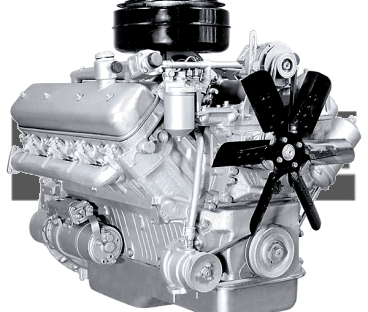 Фото: Двигатель 238М2 с коробкой передач и сцеплением 12 комплектации