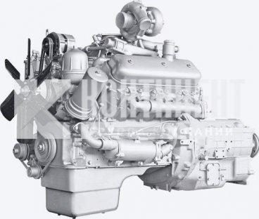 Фото: Двигатель 236НЕ2 с коробкой передач и сцеплением 28 комплектации