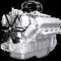 Фото: Двигатель ЯМЗ-238ВМ без коробки передач со сцеплением основной комплектации
