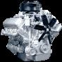 Фото: Двигатель 236М2 с коробкой передач и сцеплением 1 комплектации