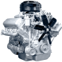 Фото: Двигатель 236М2 с коробкой передач и сцеплением 19 комплектации
