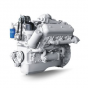 Фото: Двигатель ЯМЗ-236Б с коробкой передач и сцеплением 6 комплектации